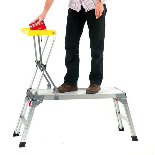 Picture of Aluminium Platform with Tool Tray