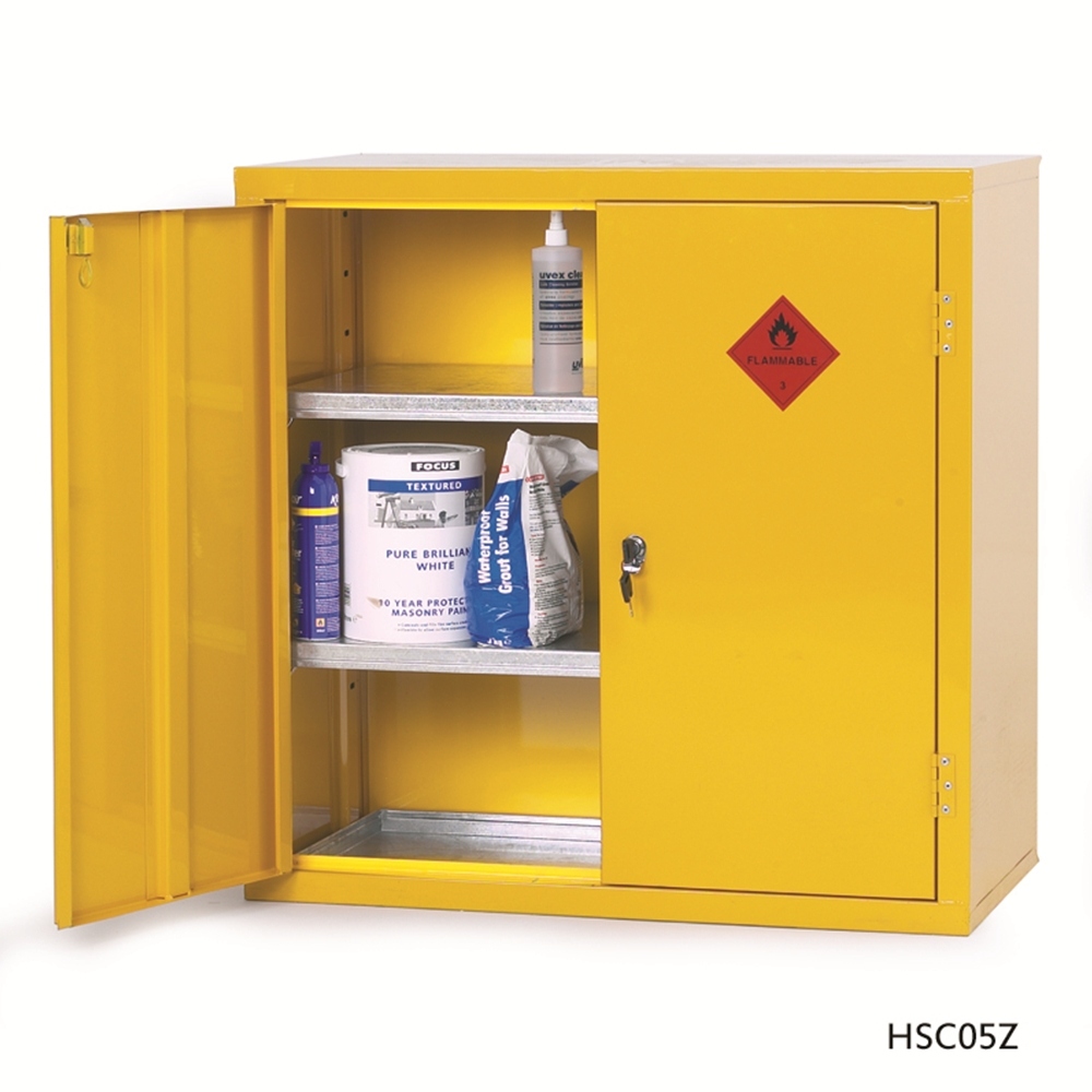 ... Picture Of Heavy Duty Hazardous Materials Storage Cabinets