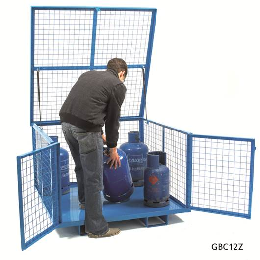 Picture of Security Cage With Lift Up Lid