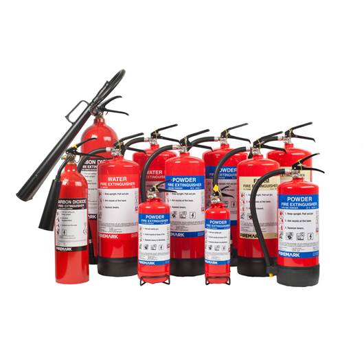Picture of Fire Extinguishers