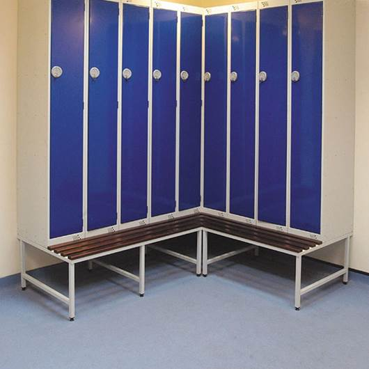 Picture of Locker Stands with Seats