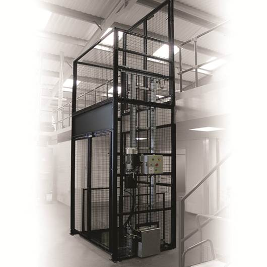 Picture of Fully Enclosed Mezzlift