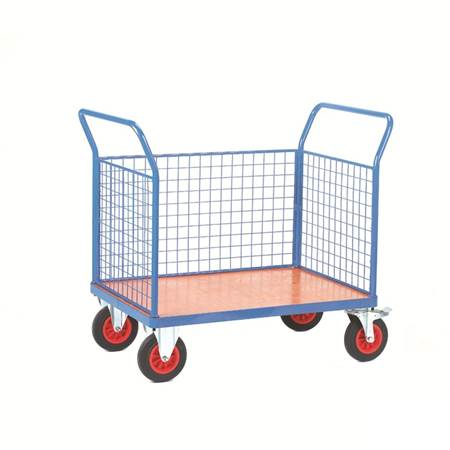 Picture for category Fort Plywood Platform Trucks with Mesh