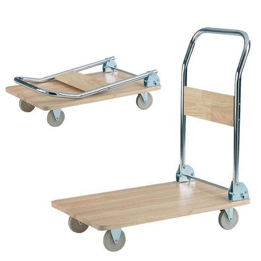 Picture of Wooden Deck Trolley