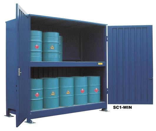 Picture of External Storage Cabinets