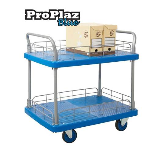 Picture of Proplaz Blue Two & Three Tier Trolleys