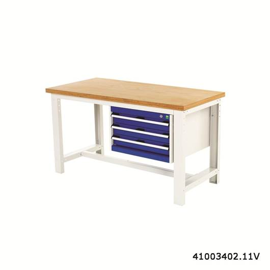 Picture of Heavy Duty Framework Bench with Triple Drawer