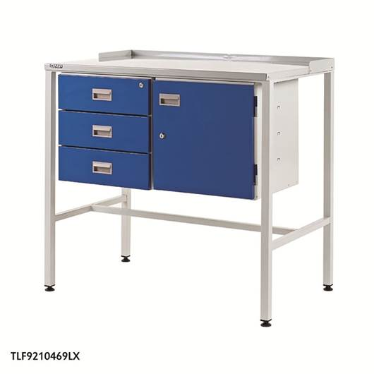 Picture of Team Leader Workstations with Triple Drawer & Cupboard
