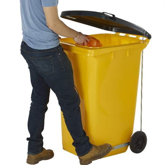 Picture of Wheeled Bins with Pedal & Lid