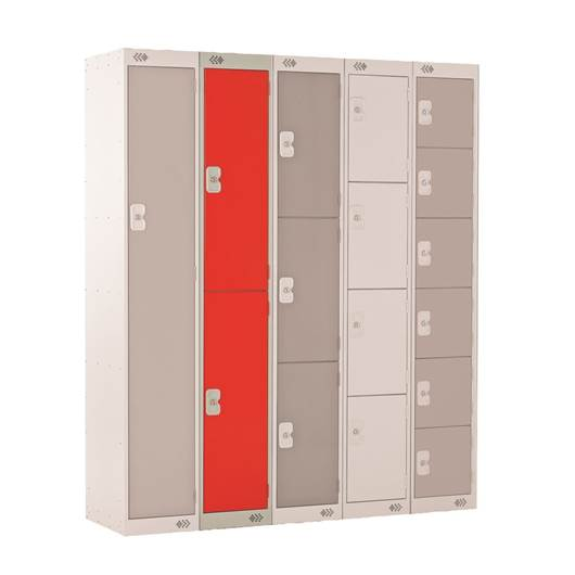 Picture of Two Tier Standard Lockers