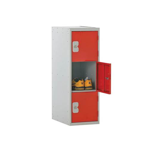 Picture of Three Tier Half Height Lockers