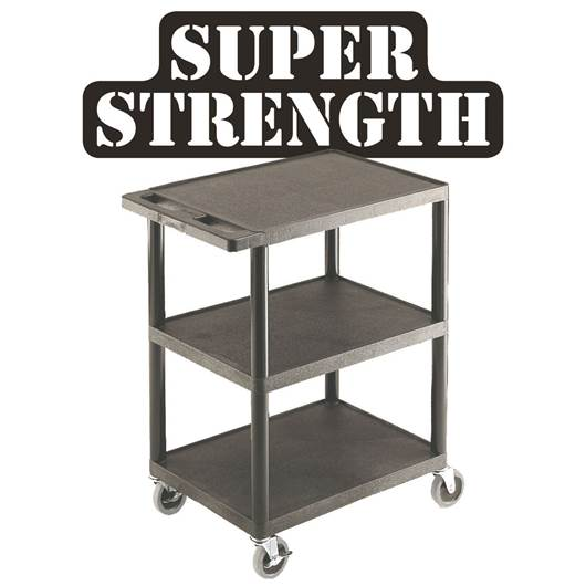Picture of Multi-Purpose Trolleys with 3 Shelves