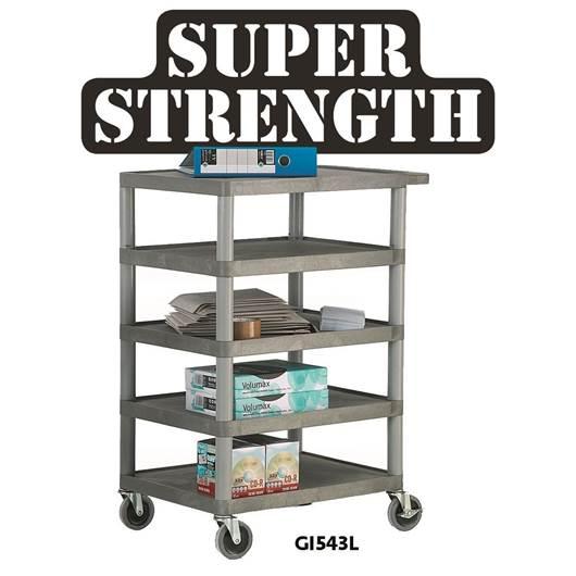 Picture of Standard Grey Shelf Trolleys