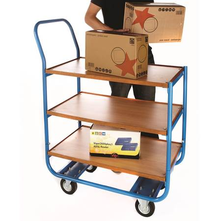 Picture for category Plywood Shelf Trolleys