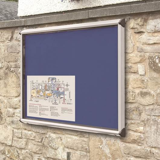 Picture of SHIELD® Exterior Showcase Noticeboards