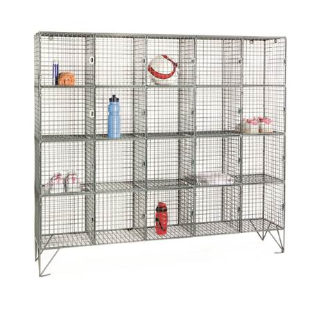 Picture for category Wire Mesh Lockers