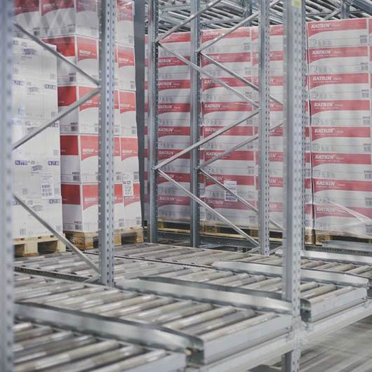 Picture of Dexion Pallet Flow Racking