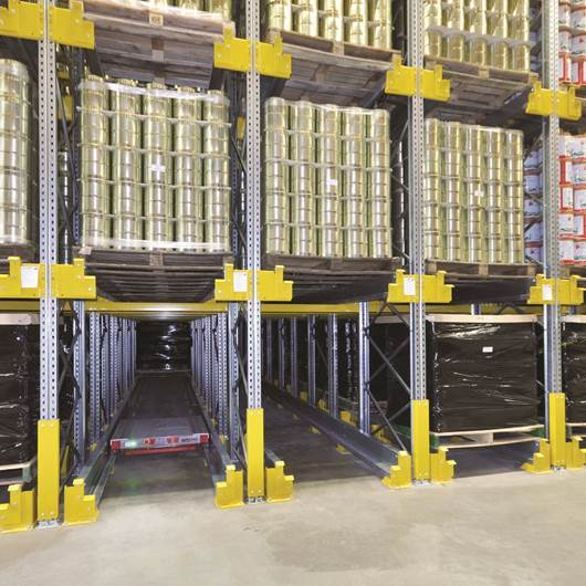 Picture of P90 Pallet Shuttle Storage System