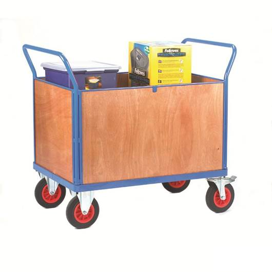 Picture of Fort Plywood Platform Trucks with Four Sides