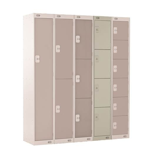 Picture of Four Tier Standard Lockers