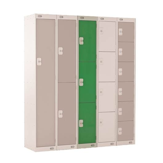 Picture of Three Tier Standard Lockers