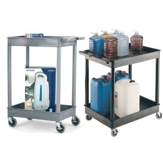 Picture of Large Multi-Purpose Trolleys with 2 Storage Trays