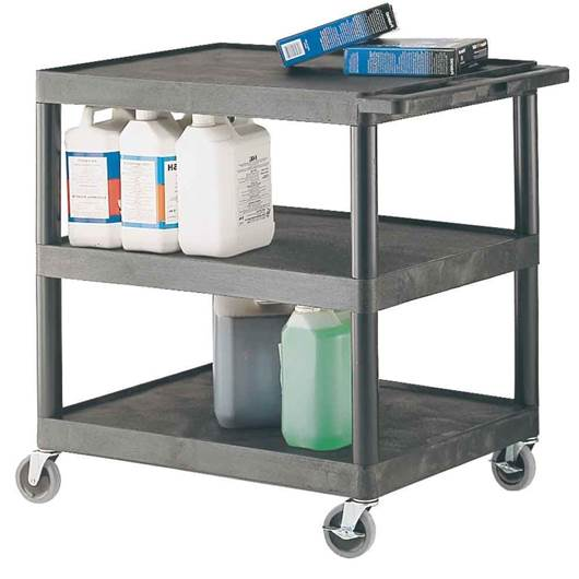 Picture of Large Multi-Purpose Trolleys with 3 Shelves