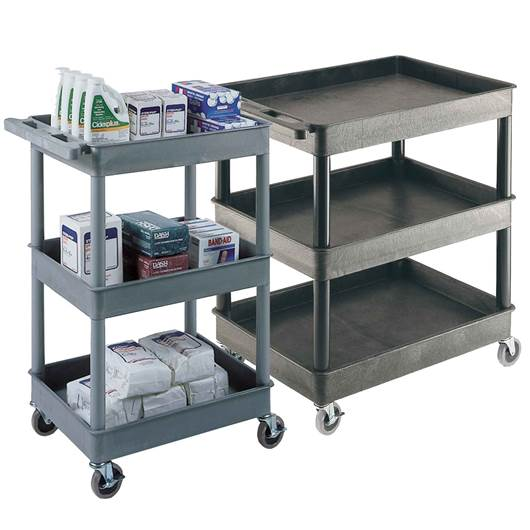 Picture of Large Multi-Purpose Trolleys with 3 Storage Trays