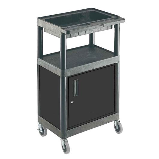 Picture of Large Multi-Purpose Trolleys with Cupboard & Storage Tray