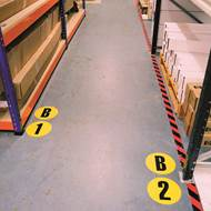 Picture of Floor Identification Markers A to Z & 0 to 15