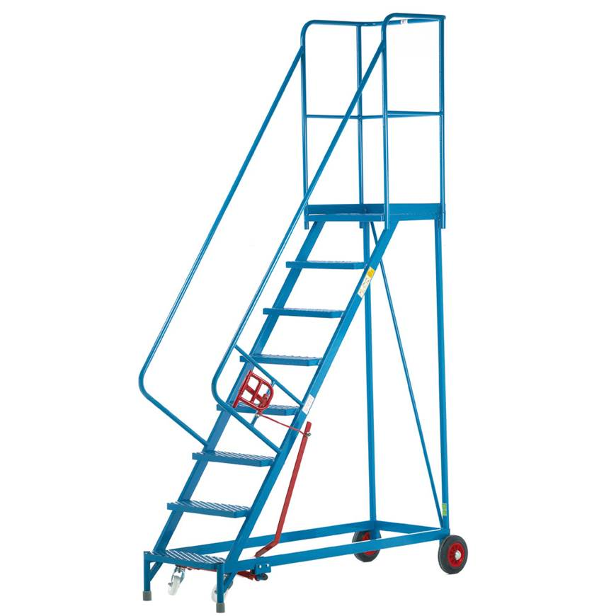 Picture of Fort Heavy Duty Vantage Mobile Steps with Phenolic Non-slip Treads