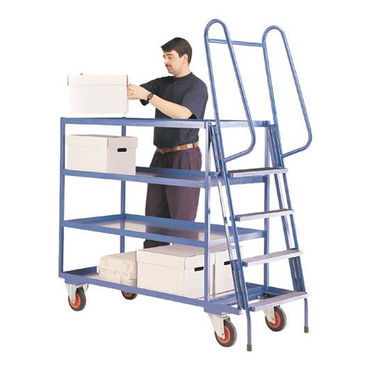 Picture of Heavy Duty Order Picking Trolley