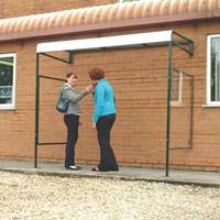Picture of Wall Mounted Smoking Shelter