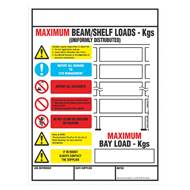 Picture of Weight Load Notices
