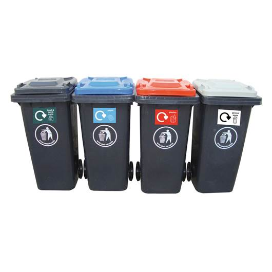 Picture of Recycling Centre Wheeled Bins