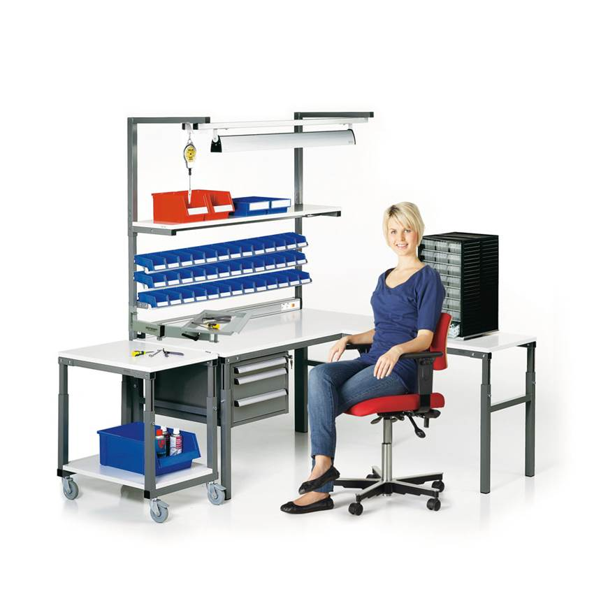 Picture of Workbench with Shelf TPH
