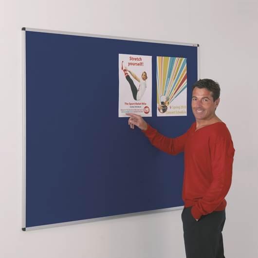 Picture of Aluminium Framed Felt Noticeboards