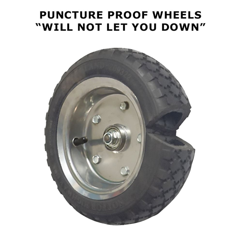 Wheels for warehouse equipment 18