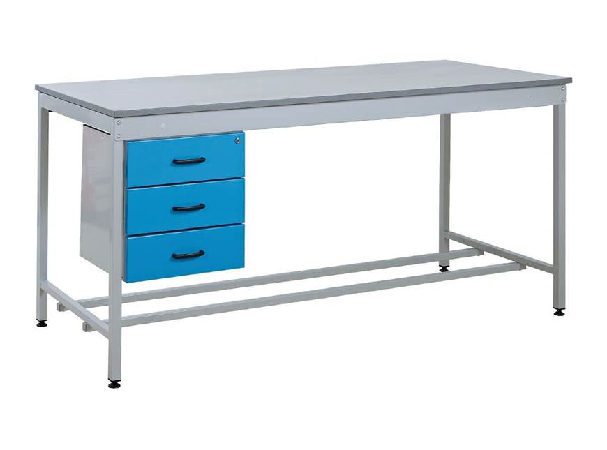 Picture of Taurus Utility Workbench with Triple Drawer - From Stock