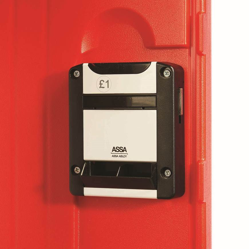 Picture of Optional Extras for Full Height Plastic Lockers