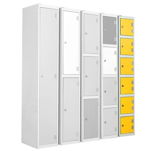 Picture of Six Tier Laminate Door Lockers