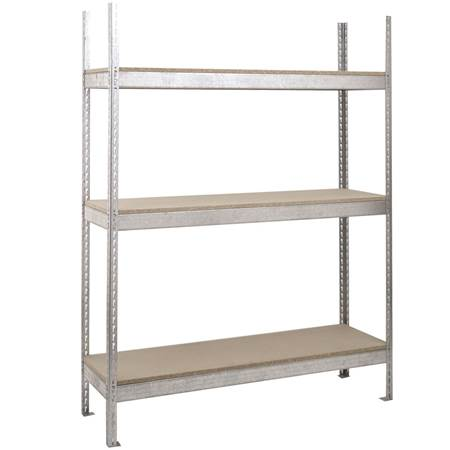Picture for category Galvanised Shelving