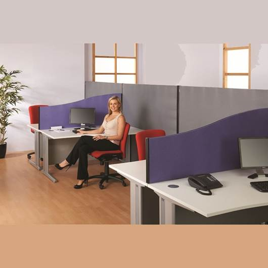 Picture of 400/600mm High Wave Desk Screens