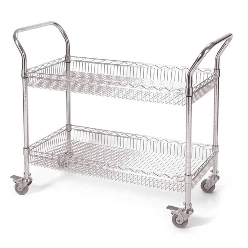 Picture of 2 & 3 Tier Basket Trolleys