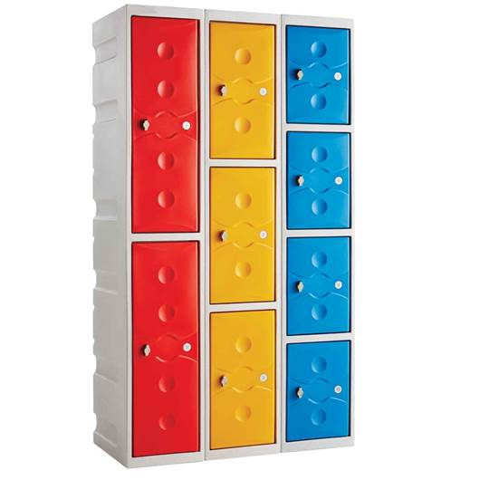 Picture of Full Height Plastic Plus Lockers