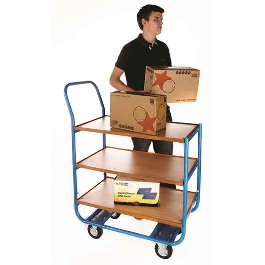 Picture of Plywood Shelf Trolleys