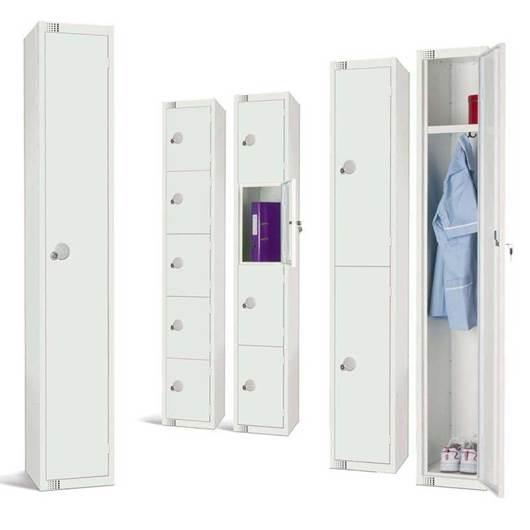 Picture of Elite White Lockers