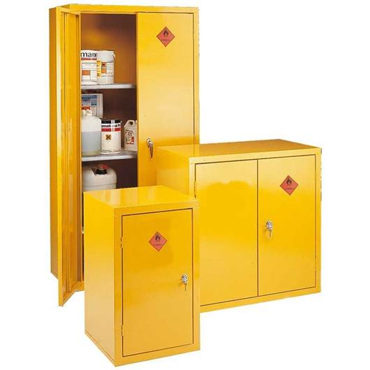 Picture of Heavy Duty Storage Cabinets - Highly Flammable