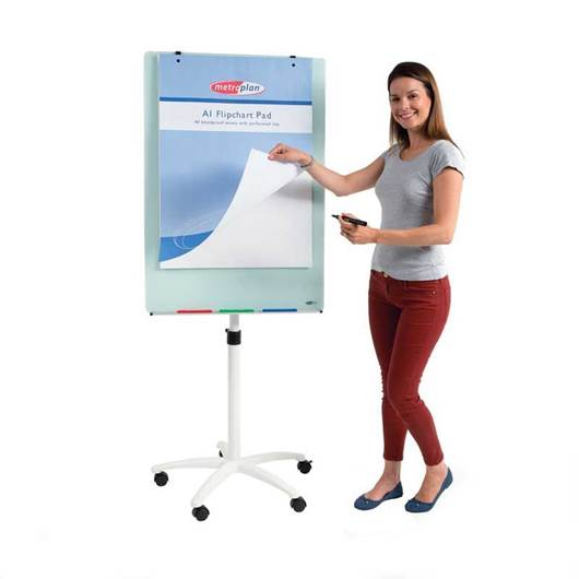 Picture of WRITE-ON® Glass Flipchart Easel