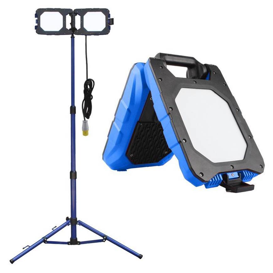 Picture of Folding Work Lights with Tripod